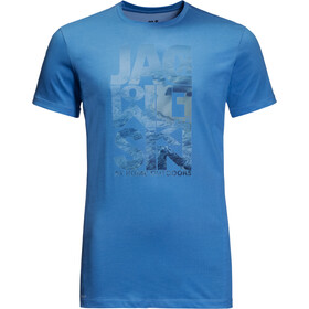 Jack Wolfskin Atlantic Ocean Tee Men wave blue